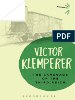 (Bloomsbury Revelations) Victor Klemperer-Language of the Third Reich_ LTI_ Lingua Tertii Imperii-Bloomsbury Academic (2013)