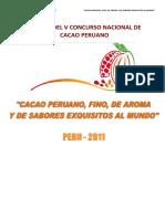 BASES V CONCURSO NACIONAL DE CACAO - 2011.pdf