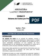 SEMANA 9 - SISTEMA DE COSTOS POR PROCESOS.pptx