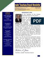 Greater Texarkana Branch NAACP Newsletter (Oct-Dec 2018)