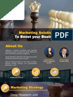 Company Profile Marketing Solution
