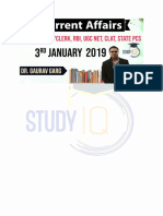 6 Jan 2019 Best Daily Current affairs Free PDF Download – StudyIQ