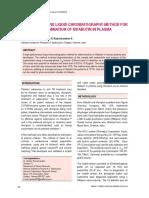 HPLC para la rifabutina en plasma