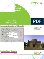 ZTE North-II Analysis of CS & PS Testing of DI Khan City for PTA QOS-13012019