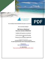 Job Maldives 012119