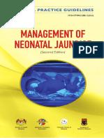 CPG Managment of Neonatal Jaundice (Second Edition)New