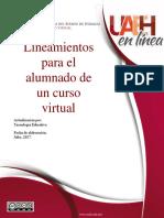 Lineamientos Para El Alumnado en Curso Virtual