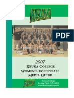 2007 Volleyball Media Guide