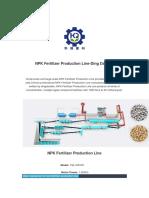NPK Fertilizer Production Line-Ding Dandan