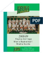 2008 Men's Basketball Media Guide