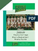 2008 Men's Basketball Media Guide
