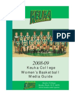 2008 Women's Basketball Media Guide