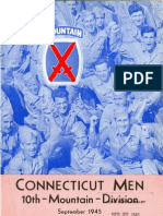 WWII 10th Mountain Division