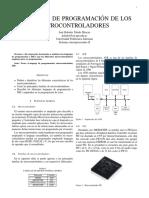 Paper - Lenguajes de Programación de Los Microcontroladores