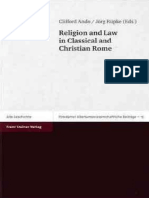Ando & Rüpke (eds.), Religion and Law in Classical and Christian Rome, Steiner 2006