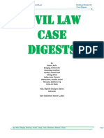 Civil Law Case Digest