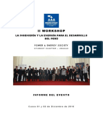 Informe Workshop 2016