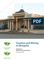 World Growth - Taxation and Mining in Mongolia - English