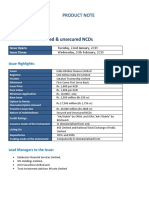 Ncd Product Note