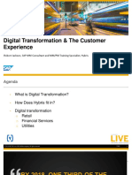 Digital Transformation & the Customer Experience