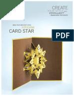 Bead Charm Kiri Gami Card Star