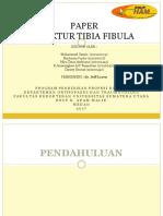 PaperFraktur Tibia Fibula New