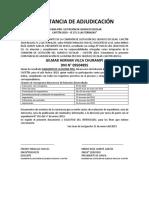Constancia de Adjudicación Quiosco Escolar 2019 (1)