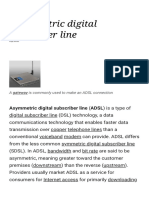 Asymmetric Digital Subscriber Line - Wikipedia