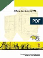 Model Building Bye Laws-2016