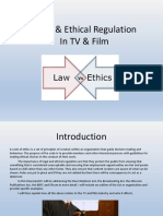 Legal and Ethical Regulation in the Film and TV Industry