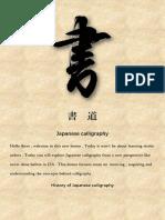 Historia Caligrafia China Japao