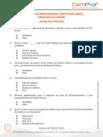 Scrum Master PT Mock Exam 2 V092018A