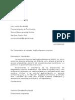 Comentarios al Borrador Final del Reglamento Conjunto de Permisos - oct 2010