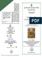 2019 -24 Feb - 39ap-2trio- Vespers -Prodigal Son-st John Baptist Head