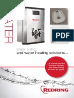 Redring Water Heating Brochure
