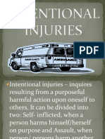 Intentional Injuries