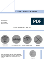 Acoustical Study of Interior Spaces