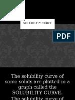 Solubility Curve Valencia