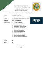 GRUPO N° 3 - APLICACIONES DE SISTEMAS CONTABLES