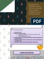 7. Penerapan Prinsip Sosial Budaya Dalam Pelayanan Kesehatan Di