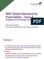 BRC Issue 8 Update