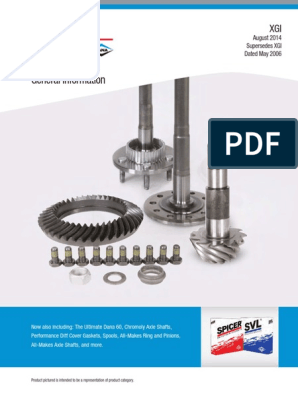 SVL 2021372 Differential Ring and Pinion Gear Set for Toyota 8 5.71 Ratio