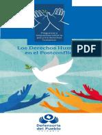 Los Derechos Humanos en El PostConflicto
