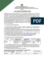 Edital Docente 168-2018