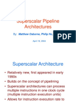 Super Scalar Architectures