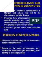 12-Linkage Crossing-over and Gene Mapping in Eukaryotes