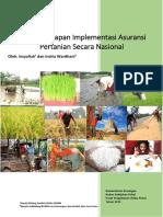 Kajian Persiapan Implementasi Asuransi Pertanian
