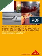 Revestimientos de Alta Resistencia Química-Mecánica Para La Industria y Minería
