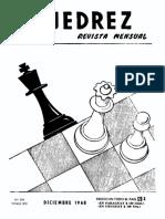 Ajedrez Revista Mensual Diciembre 1968 Año XV Nro. 176