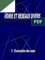 Les Voiries Réseaux Divers